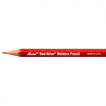 Markal All-Metal High Performance Red Industrial Pencil - 72 Pack (096100)