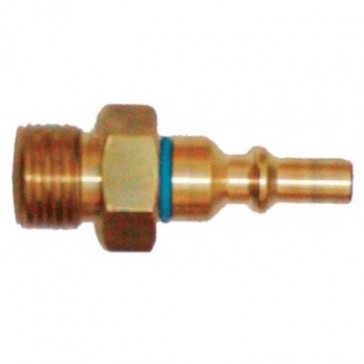 Weldclass Oxygen Quick Coupling - Pin Only, Regulator Mount (P4-RQPO)