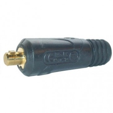 Dinse Style 35-50 Male (13mm Pin) Twistlock Welding Cable Connector (P6-1025MP)