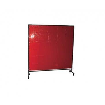 XCEL ARC Red Welding Curtain 1.8m x 1.8m (.4mm thick CE Aus Standards)