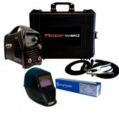 RAZORWELD TIG-Stick 180Amp DC Inverter with Electrodes and Helmet