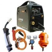 RAZORWELD 175 DC MIG/MMA Inverter Welder with 15A to 10A Adapter