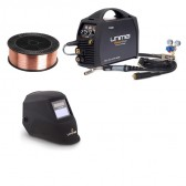 UniMig 205 Smart Set MIG-TIG-Stick Inverter Welder Bundle
