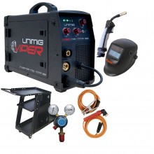 UniMig Viper 182 MIG-MMA-TIG Inverter Welder Package