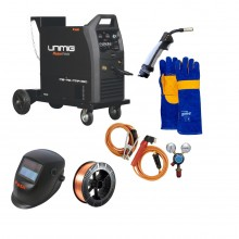 UniMIg 250K-SG MIG-TIG-MMA Inverter Welder Package
