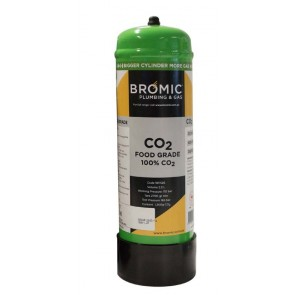 Bromic 2.2Lt Co2 Disposable Welding Gas Bottle (Approx 540L of Gas)