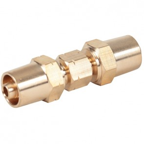 Weldclass Premium quality brass screw-on hose joiner to suit 5mm Gas Welding hoses