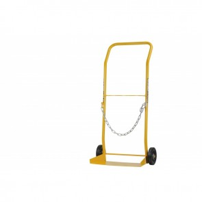 Bossweld Trolley for Large (G Size) Gas Cylinder  Rubber wheel (400152)