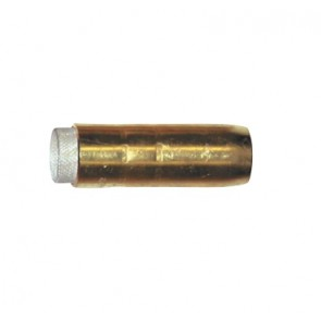 Bernard Mig BE4391 Nozzle Cylindrical 16mm Brass Suit BE4235/4335 - 2PK