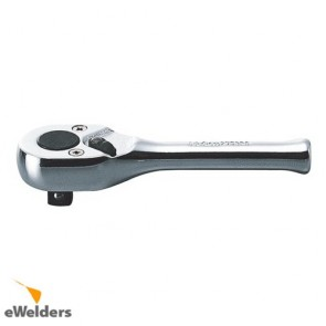 Koken Ratchet 1/4 Dr Polished Handle 116Mm