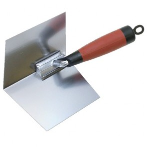 Marshalltown Trowel Insd Cnr 102X127Mm S/S Durasoft Handle Mt23D