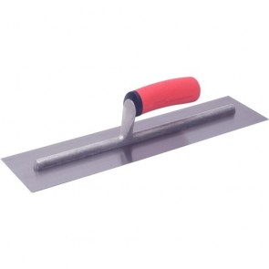 Marshalltown Trowel  Finishing H. Carbn Qlt 406 X 102Mm Soft Grip Handle Mtft164