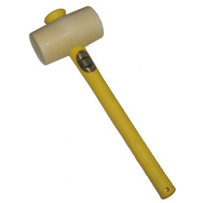Thor Mallet  Whte Rubber  445G 1Lb  -  F/Glass Handl Th952Wfg