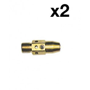 Gas Diffuser Suit Tweco No.2 Style Torch Fixed Nozzle (52FN) -PK 2