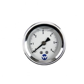 White International Whi-6Barpg - Pump Pressure Gauge 6 Bar Liquid Filled