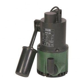 DAB Dab-Nova180A - Pump Submersible Wastewater With Float 80L/Min 4.8M 0.22Kw 240V