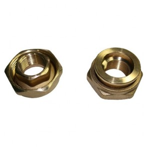 DAB Dab-Union1B - Pump Union Circulator 1 Inch (Pair) Brass