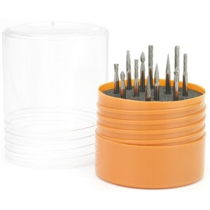 "Menlo Burr Set 12 Piece Set With 1/8"" Shank Menbtool13"