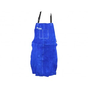 Weldclass Promax Blue Leather Apron (900mm x 600mm)