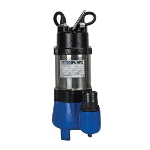 Bianco Bia-B25Vas2 - Pump Submersibledirty Water With Float 150L/Min 7.5M 250W 240V