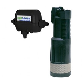 Rainsaver Rs4E-Divertron1200 - Pump Changeover Rs4E Submersible Clean Water 95L/Min 47M 750W 240V