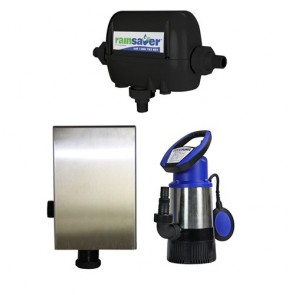 Rainsaver Rs4E-Jh8003S2Mpcx Rainsavermk4E Submersible Pumpkit Clean Water Domestic 80L/Min 30M 800W 240V