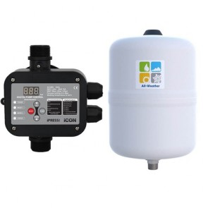 Bianco Ipress Controller And Gws 18L Pressure Tank