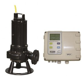Zenit Zen-Drn250/2/65Mex-P Industrial Submersible Pump & Bia-Spc1-22S Control Panel With Transducer