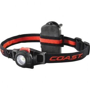 Coast Hl6 Wide Angle Flood Beam Led Headlamp - 295 Lumens 3 X Aaa