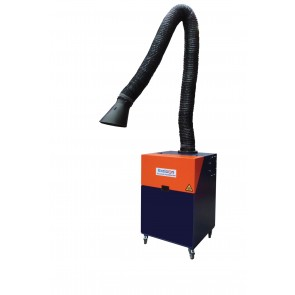 Allclear Clearmaster German Made 1Hp Portable Fume Extractor Unit 240V Incl 3M Arm