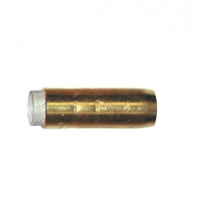 Bernard Style BE4491 400amp Nozzle Cylindrical 19mm Brass - Pkt 2 [PWGA4491]