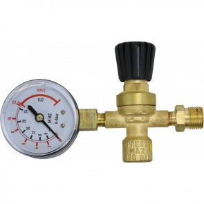 Bossweld Disposable Regulator with Gauge