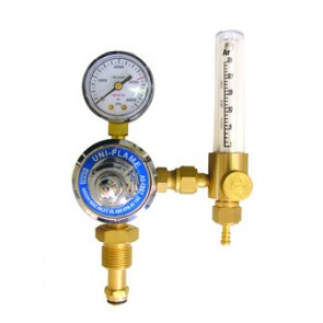 Uni-Flame Argon Regulator/Bobbin Flowmeter