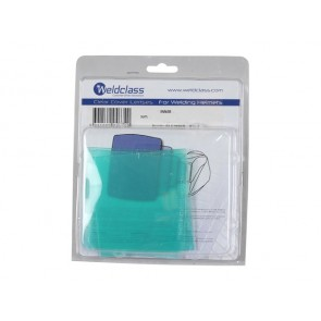 Clear 141 x 126mm Outer Lens to suit Jackson WH70 Welding Helmet - 10 Pack