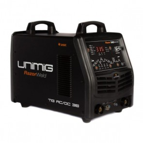 UniMig Razor 315 Three-Phase ACDC Digital TIG-MMA Inverter Welder (KUMJRRW315ACDC)