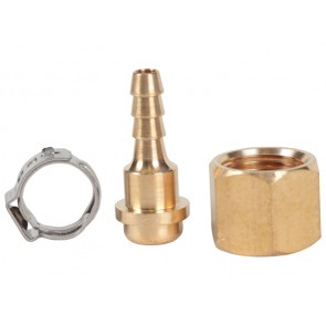 Weldclass Crimp-On Hose Connector Kit for Oxy,Acetylene and LPG Welding Equipment - Suits 5mm Hose LH Oxy -