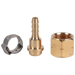 Weldclass Crimp-On Hose Connector Kit for Oxy,Acetylene and LPG Welding Equipment - Suits 5mm Hose RH Acetylene,LPG