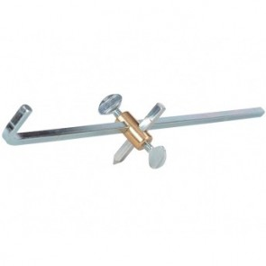 Radius Bar for Weldclass Tj4602 Roller Guide to allow Circle Cutting