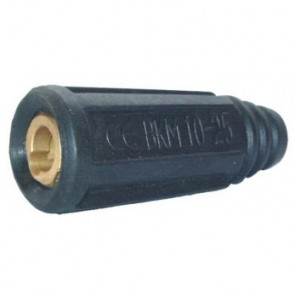 Dinse Style 10-25 (9mm) Female Twistlock Welding Cable Connector (P6-1025FC)