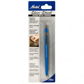 Markal High Performance Silver Industrial Pen for Steel and most Metals - 10 Pack (96107)