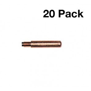 Tweco No.2/No.4 Style Steel Heavy Duty Contact Tip (0.8mm) - PK of 20