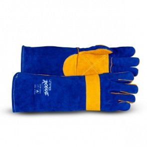 UniMig Rogue Heavy Duty Leather MIG Welding Gloves 16 Inch [UMWG8]