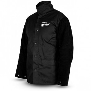 Unimig Rogue Welding Jacket w/ Leather Sleeves (Size XL) [UMWJ-B-XL]